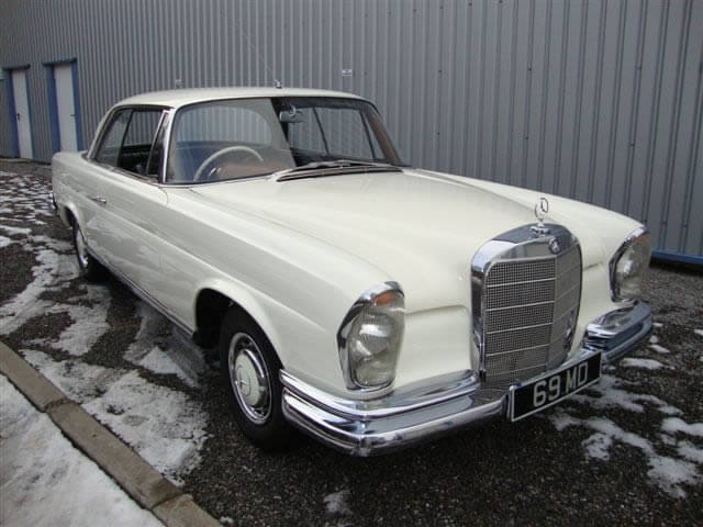 1964 Mercedes 220 SEB Coupe