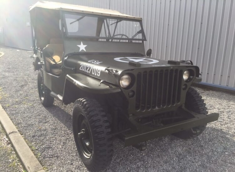 1942 WW2 Ford Willys Jeep SOLD