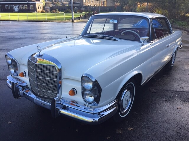 1963 Mercedes 220 SEB Manual