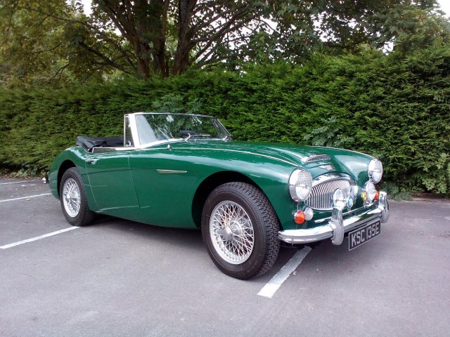 1967 Austin Healey 3000 MK3 phase 2. LHD SOLD!