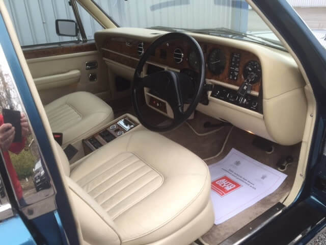 1988 Rolls Royce Silver Spirit SOLD