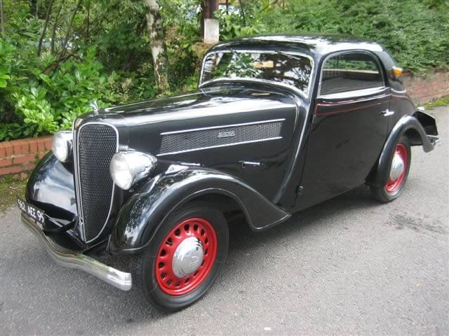 1938 Rosengart Grand Lux Coupe
