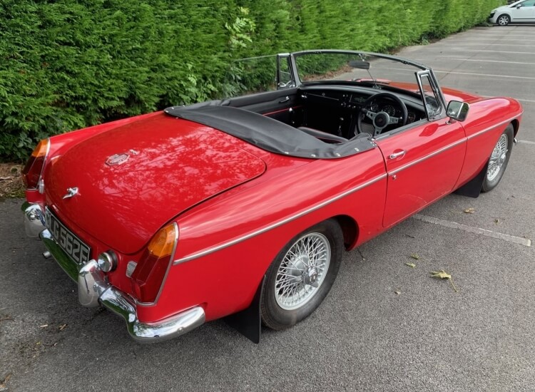 1967 MGB Roadster SOLD