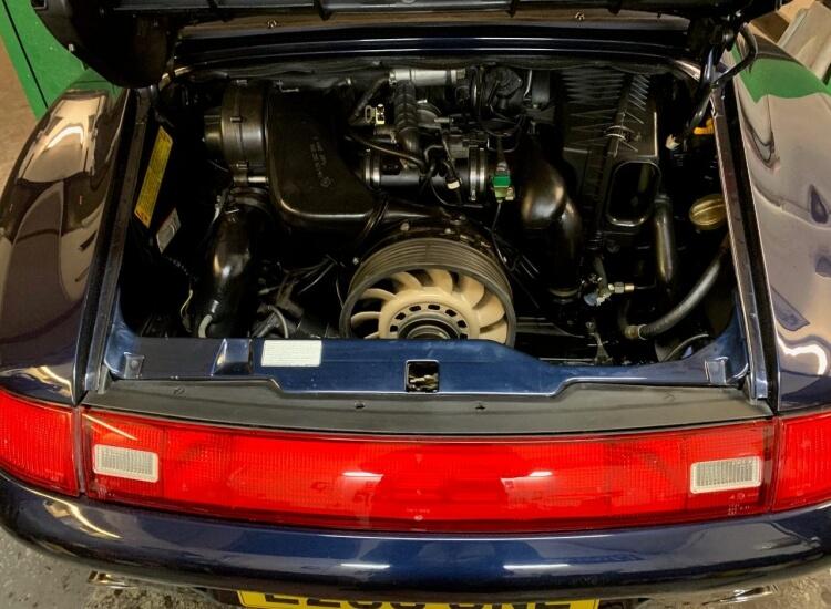 1994 Porsche 993 Carrera 2 Cabriolet