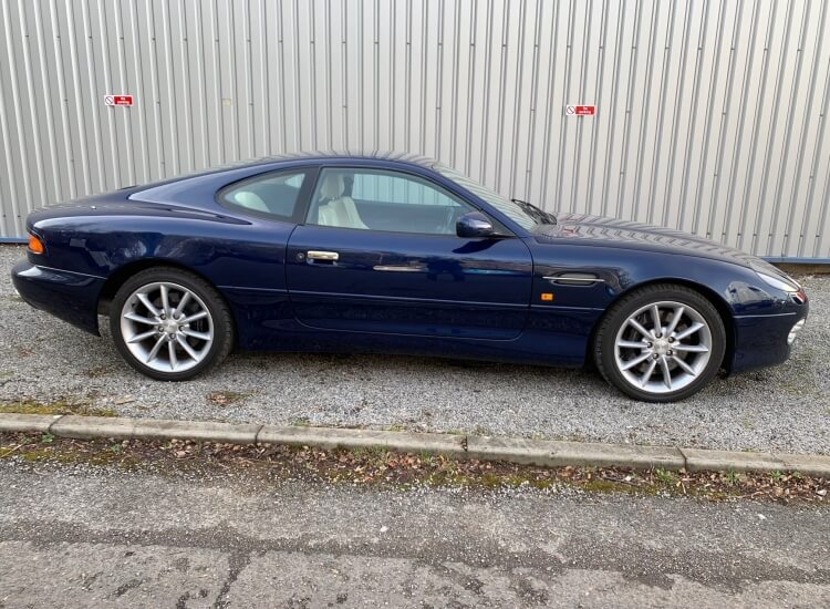 2001 Aston Martin DB7 Vantage 5 speed tip auto