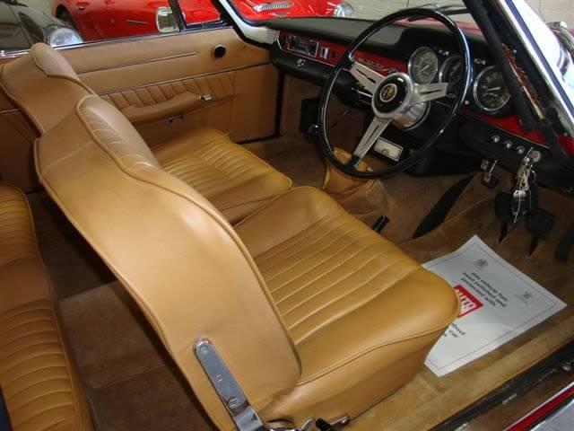 1963 Alfa Romeo 2600S Bertone Coupe SOLD