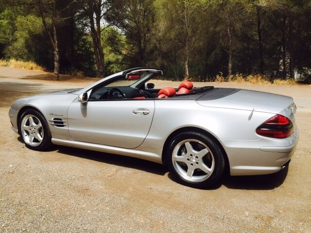 2003 Mercedes SL55 AMG SOLD