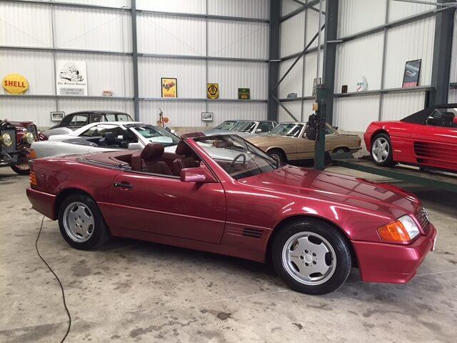 1993 Mercedes 500SL