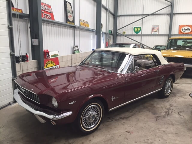 1966 Ford Mustang 289 V8 Convertible