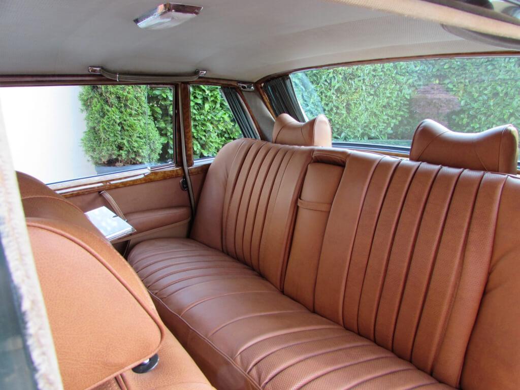 1971 Mercedes W100 600 Grosser. Very rare RHD.