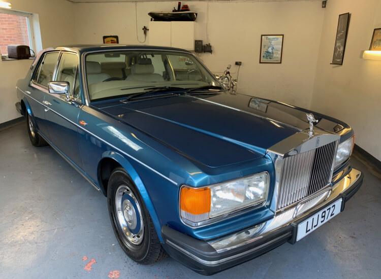 1988 Rolls Royce Silver Spirit