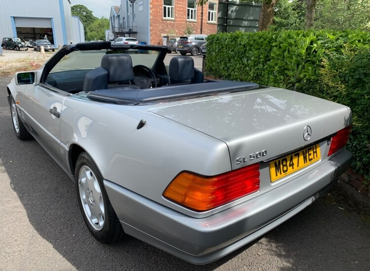 1994 Mercedes SL500 sports W129.SOLD!