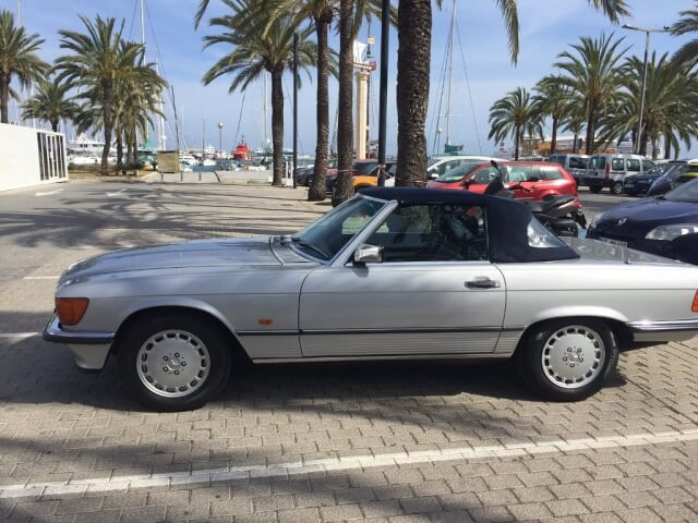 1989 Mercedes 300SL Sports