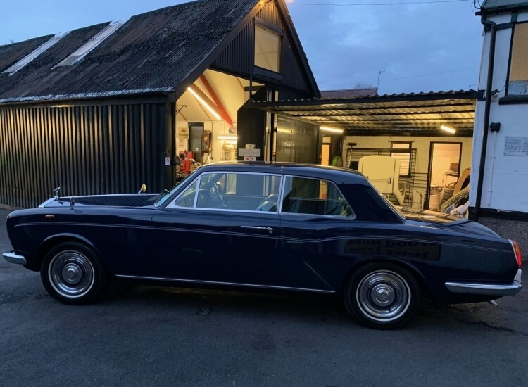 1968 Rolls Royce MPW 2 Door Coupe SOLD