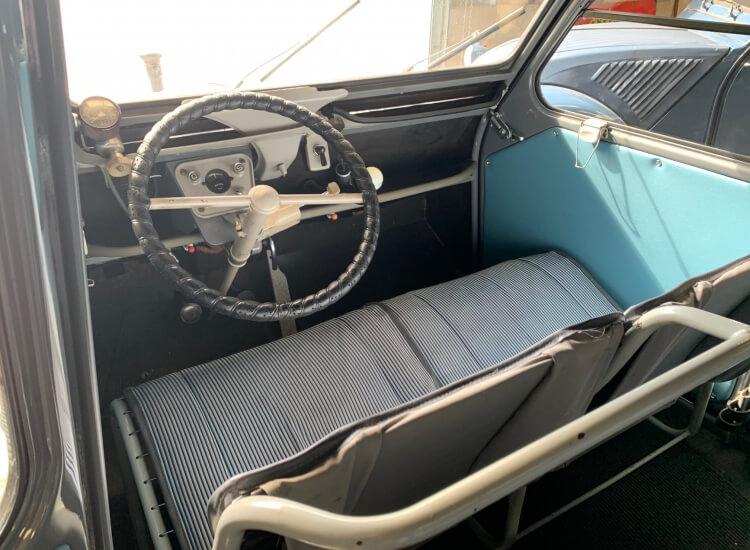 1961 Citroen 2 CV Crinkle Bonnet long boot