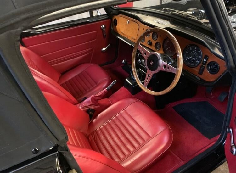 1970 Triumph TR6 PI (150 BHP)