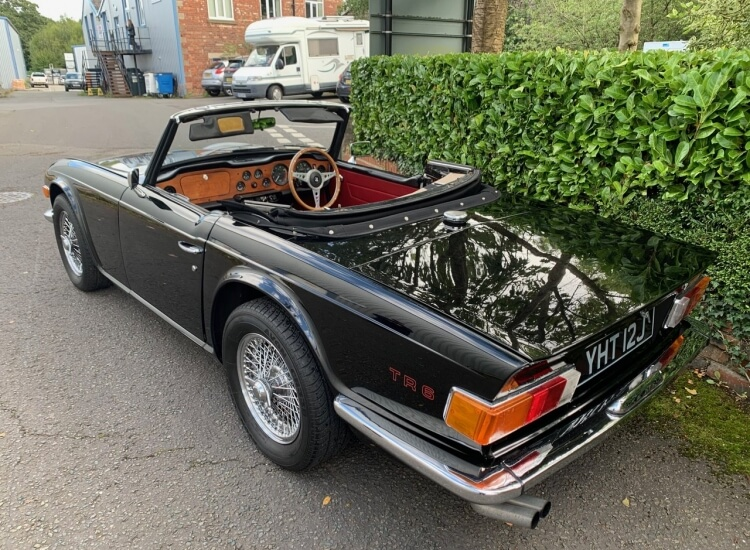 1970 Triumph TR6 PI (150 BHP) SOLD