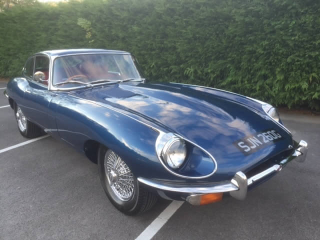 1969 E-Type Jaguar 4.2 SOLD