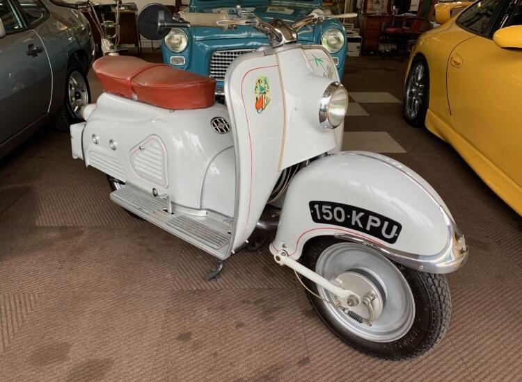 1957 Zundap Bella 150 Sport