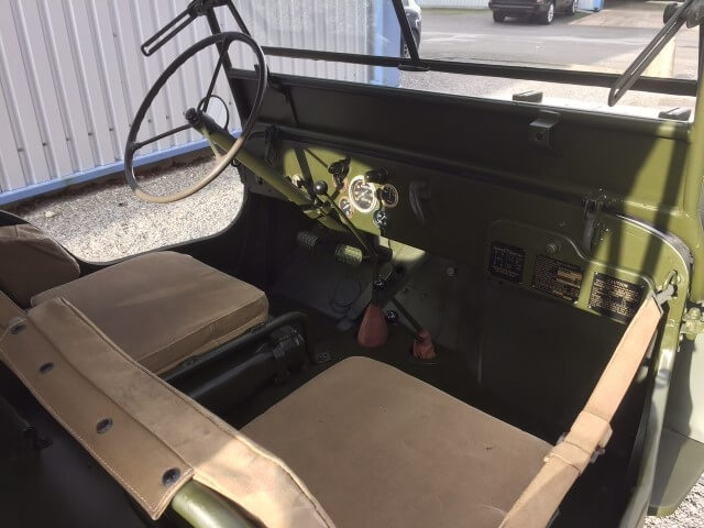 1942 WW2 Ford Willys Jeep