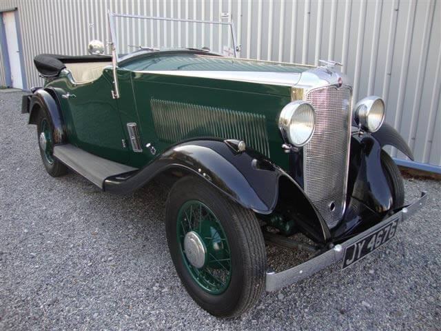 1934 Vauxhall Light Six Stratford Sports Tourer