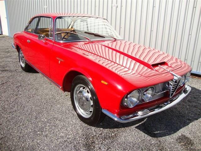 1963 Alfa Romeo 2600S Bertone Coupe