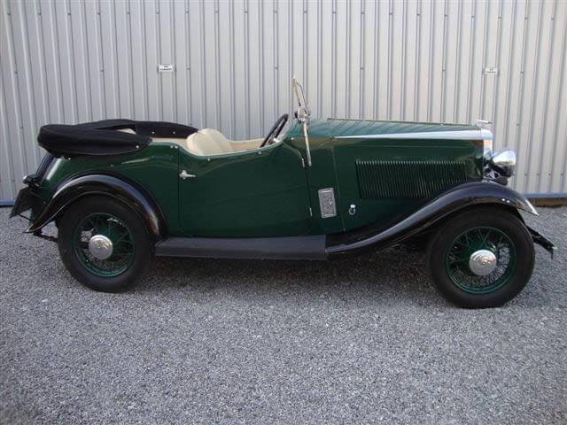 1934 Vauxhall Light Six Stratford Sports Tourer