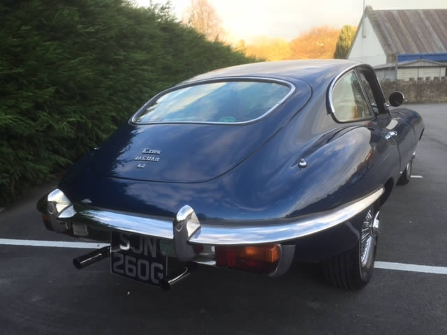 1969 E-Type Jaguar 4.2 S2 FHC