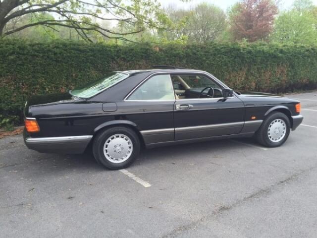1989 Mercedes 560 SEC SOLD!