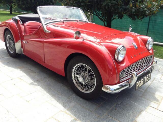 1961 Triumph TR3A SOLD