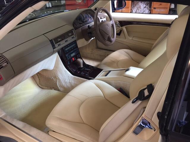 1999 Mercedes SL320 sports