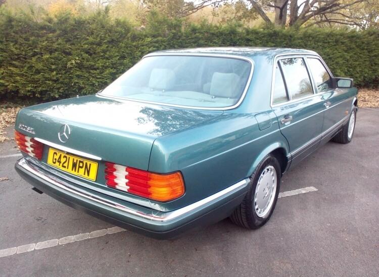 1989 Mercedes 500 SEL W126 Auto SOLD!