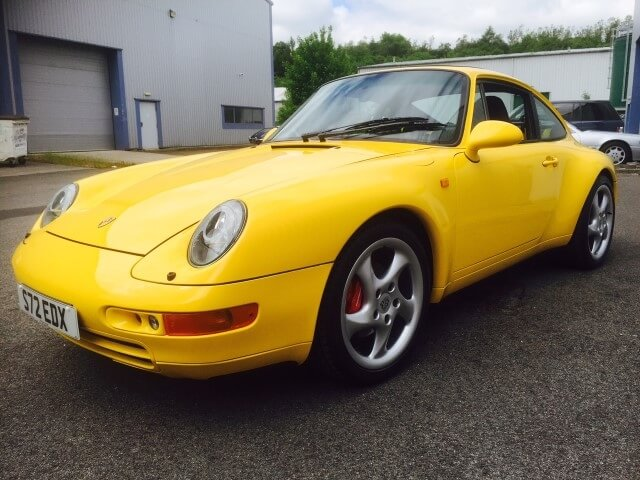 1998 Porsche Carrera 2 993