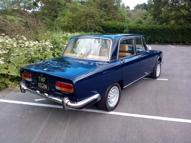 1973 Alfa Romeo 2000 Berlina SOLD!