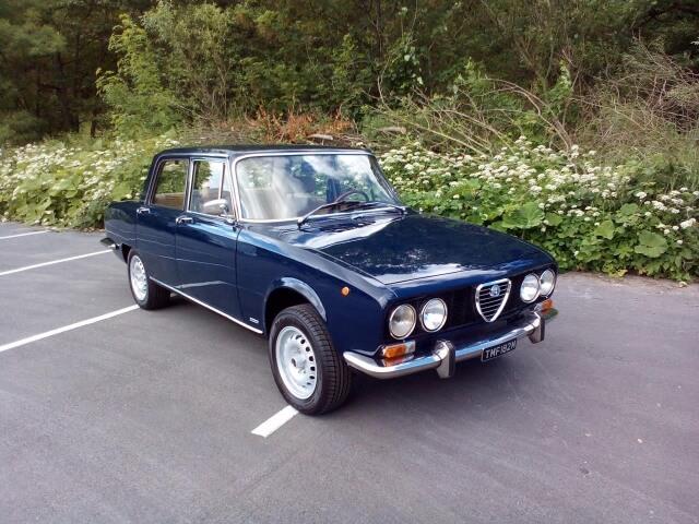 1973 Alfa Romeo 2000 Berlina