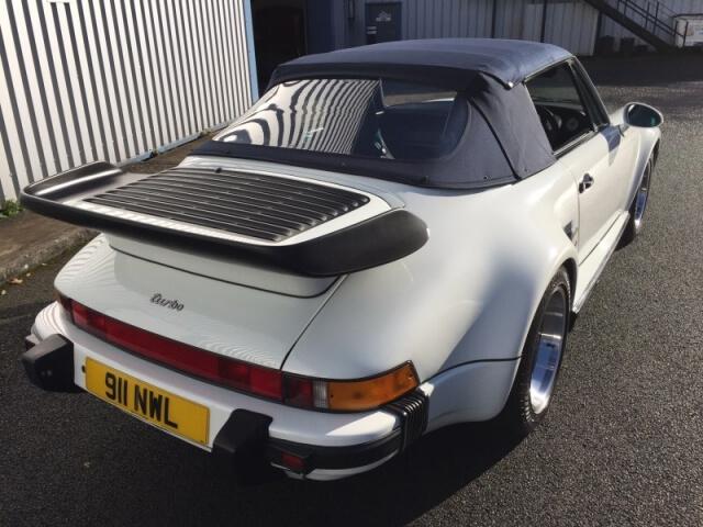 1988 Porsche 911 (930 Turbo) Cabriolet
