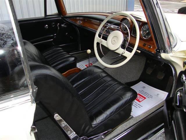 1964 Mercedes 220 SEB Coupe