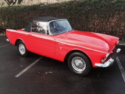 1964 Sunbeam Alpine MK4. Convertible,