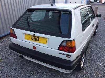 1991 Volkswagen Golf GTI G60. LHD.