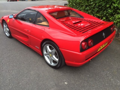 1997 Ferrari 355 GTB (LHD) manual.