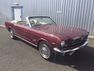 1966 Ford Mustang 289 V8 Convertible SOLD!
