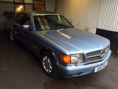 1986 Mercedes 500 SEC