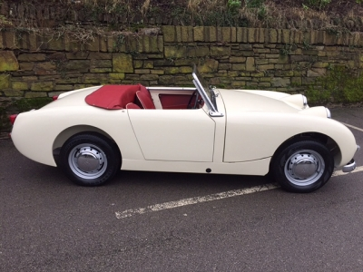 1959 Austin Healey frog eye Sprite MK1.