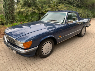 1987 Mercedes 300SL W107 SOLD!