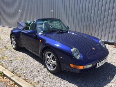 1996 Porsche 993 Carrera 2 Cabriolet