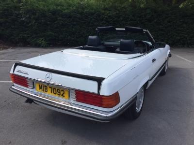 1987 Mercedes 300 SL auto (w107)