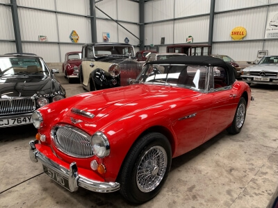 1967 Austin Healey 3000 MK 3 phase 2 SOLD