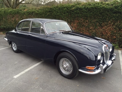 1966 Jaguar 3.4 S Type RHD SOLD!
