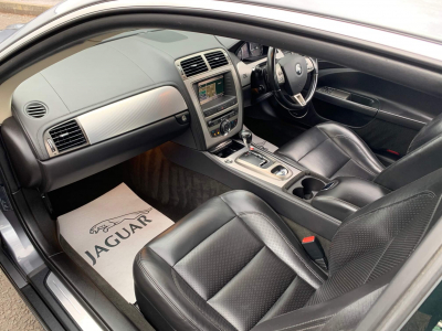 2006 Jaguar XKR 4.2 supercharged coupe.