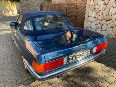 1987 Mercedes 300SL W107